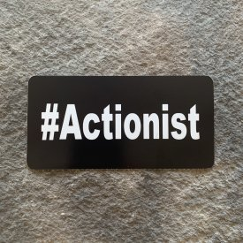 #Actionist Vinyl Decal