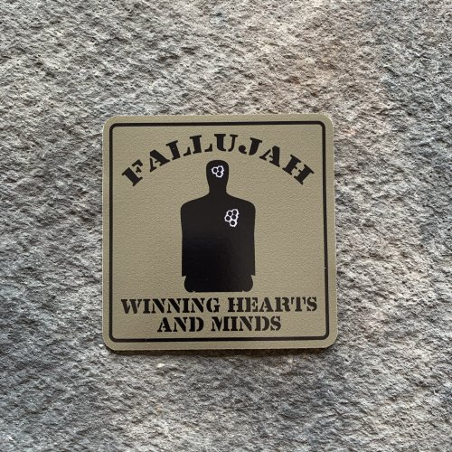 Fallujah Winning Hearts & Minds Vinyl Decals