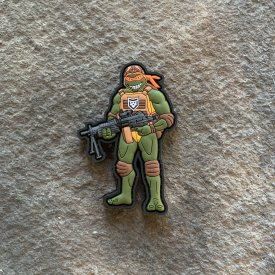 TMNT-  Michaelangelo  PVC Patch