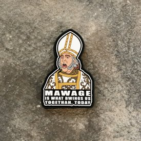 The Impressive Clergyman PVC Patch