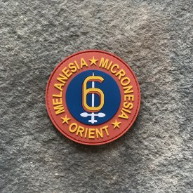 6th Marine Division PVC Patch