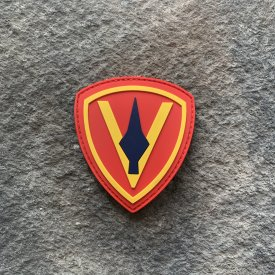 5th Marine Division PVC Patch