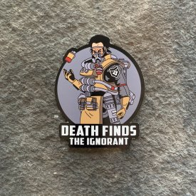 Apex Legends:  Caustic Death Finds the Ignorant Vinyl Decal