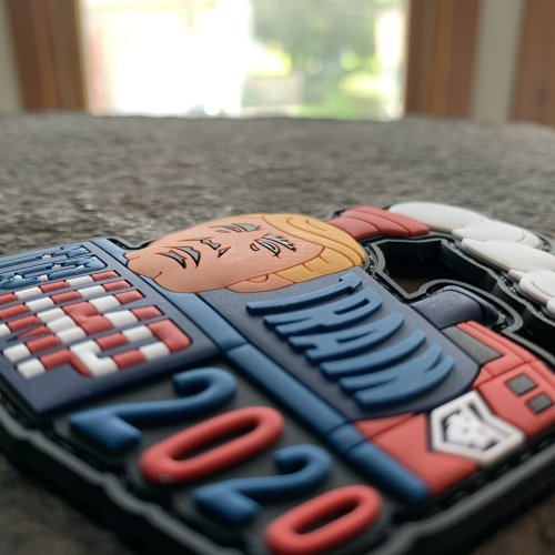 Ryan Weaver collection-  Trump Train PVC Patch