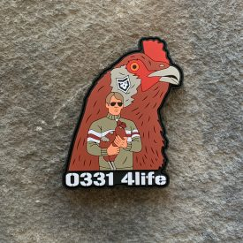 0331 Rooster PVC Patch