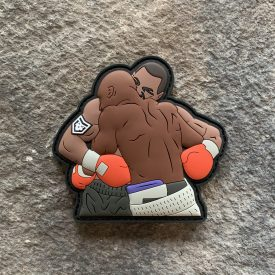 Tyson Vs. Holyfield Ear Chomp PVC Patch