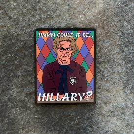 Church Lady Could it be Hillary Vinyl Decal