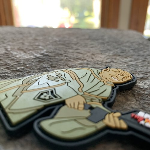 SPACEBALLS: The Flame Thrower  PVC Patch