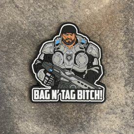Gears of War:  Marcus Fenix Bag and Tag PVC Patch
