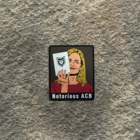 Notorious ACB PVC Patch