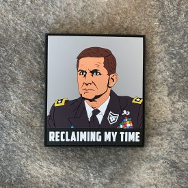 General Flynn:  Reclaiming My Time PVC Patch
