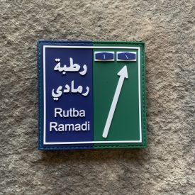 Road Signs:  Rutba Ramadi PVC Patch