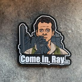 Ghostbusters Come in Ray PVC Patch