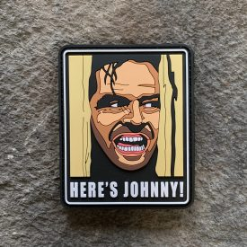 The Shining Here's Johnny PVC patch