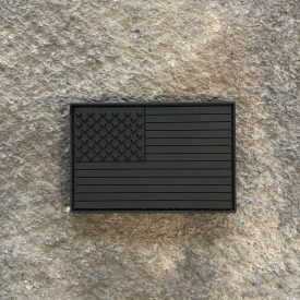 Ryan Weaver Collection: American Flag BLACKOUT PVC Patch