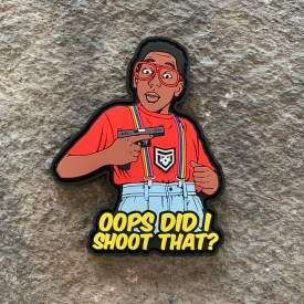 Urkel Oops Did I Shoot That PVC Morale Patch