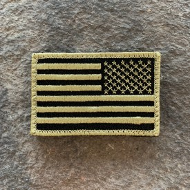 Assault Forward Embroidered Subdued Flag Morale Patch