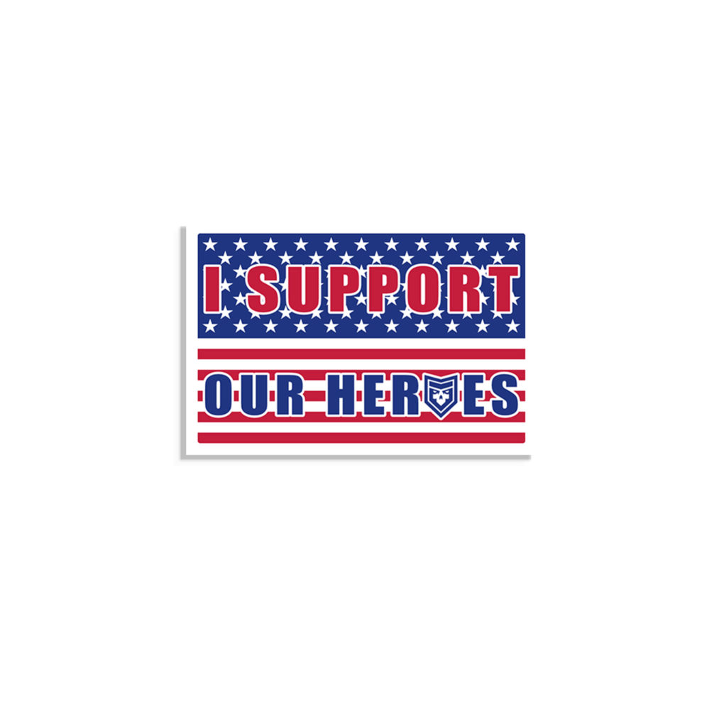 I support our heroes
