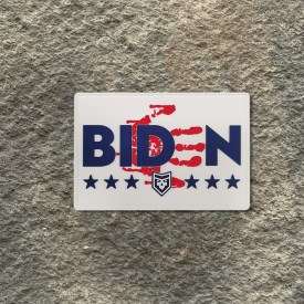 Biden has blood on his hand PVC Morale Patch