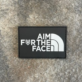 Aim for the Face PVC Morale Patch