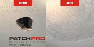 ceiling drywall repair - Portland