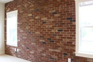 Brick feature wall-Portland Oregon