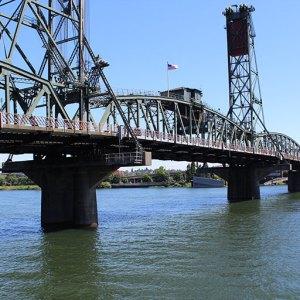 Bridges downtown Portland