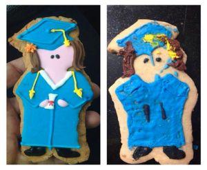 DIY graduation cookie