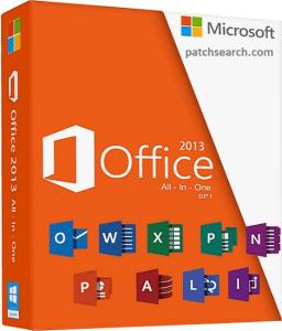 Microsoft Office 2013 Crack + Product Key Full Version