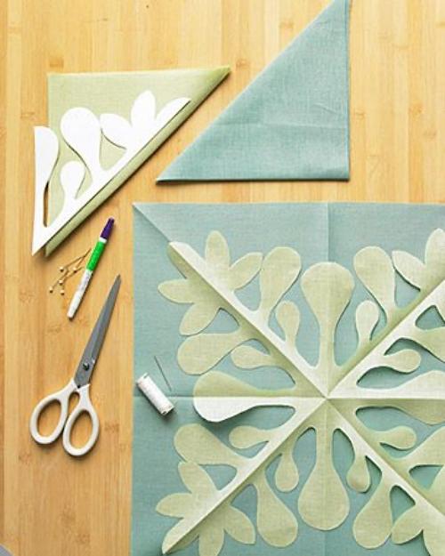 motif mola applique quilt