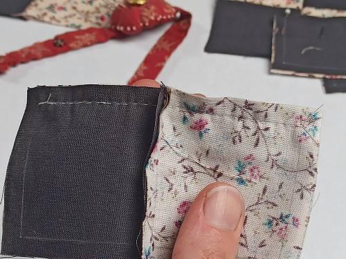 Ma couture du bloc de patchwork est terminée.