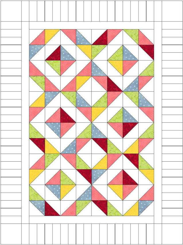 Candy Diamonds Quilt