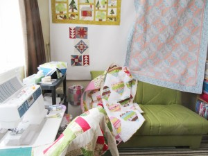 Sewing Room ready for HOS by Allison Reid