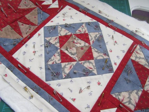 REady for quilting by Allison Reid