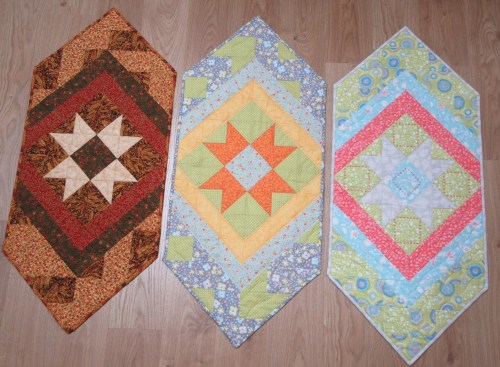 Patchwork Star Autumn Spring and Summer by Allison Reid