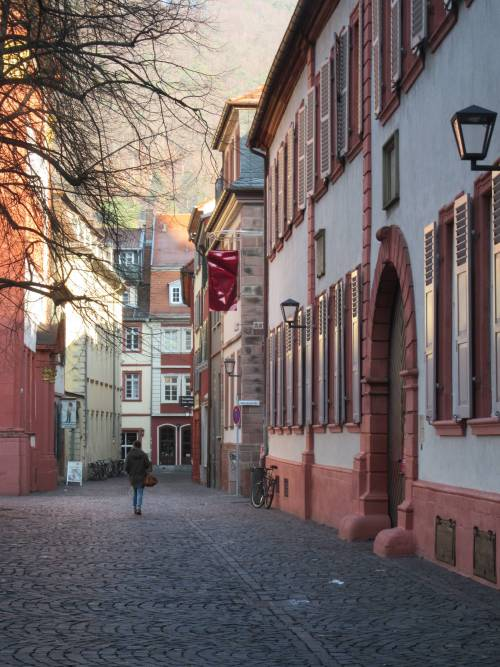 Street in Heidelberg by Allison Reid