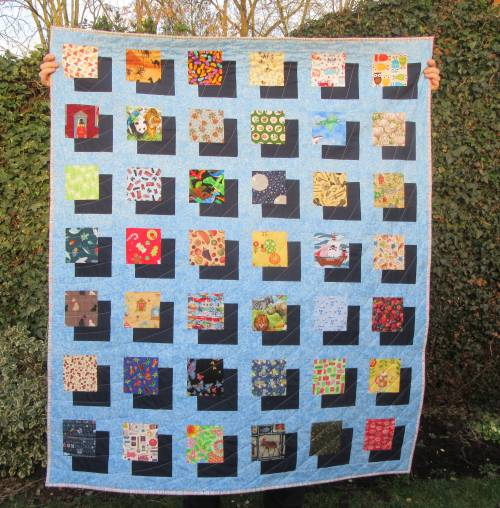 I-Spy Shadow Quilt (3) by Allison Reid