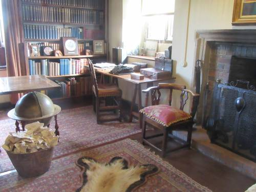Batemans Kipling's study by Allison Reid