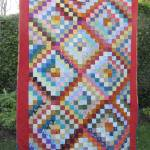 Scrappy Trip Along finished front (2) by Allison Reid