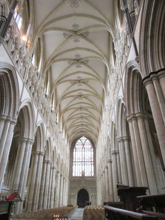 Beverley Minster nave by Allison Reid