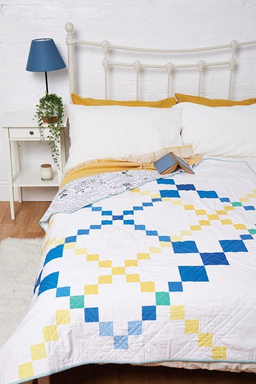 Chain reaction quilt by Allison Reid