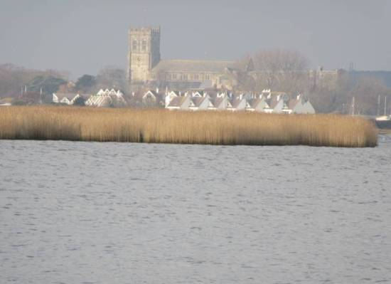 Hengistbury Head Dec 2019 the Priory by Allison Reid