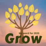 My Word for 2020 icon by Allison Reid