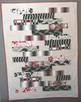 Patchwork moderno y urbano de algodón y lino
