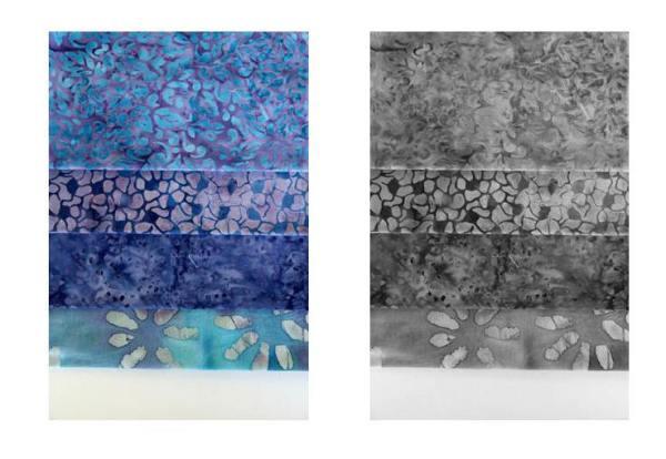 gradiente de azules y grises