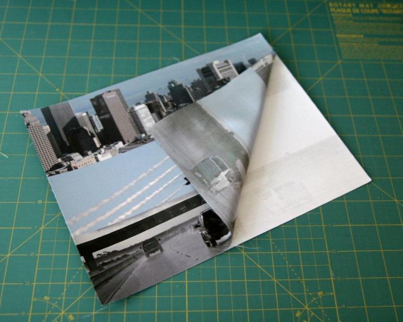 photo imprimée sur feuille de tissu à imprimer
