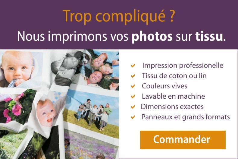 service d'impression de fotos sur tissu pour patchwork et couture Fibra Creativa