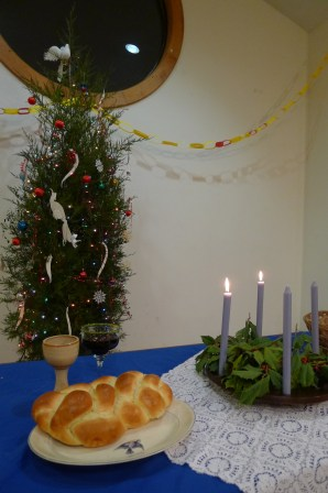 Christmas tree at Advent