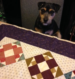 Angie - Album Quilt (and Button)