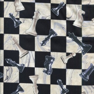 Checkmate - Black and Cream